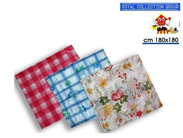 5131 TOVAGLIA PLASTICATA COL ASS cm180x180