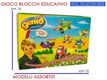 G698 AF BLOCCHI COSTRUZIONI GENIO cm16x12