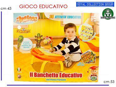 KIBBLES BANCHETTO C/PENNA GORMITI GIOCHI PREZIOSI cm53x43