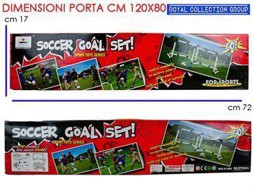 STU83 XYT8534 PORTA CALCIO C/PALL+POMP cm72x17 95030095