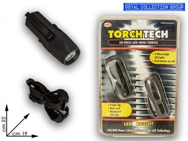 098 411 TORCIA 3 LED 2 COL ASS cm19x12,5