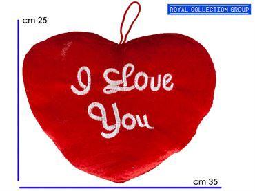 8057 CUORE ROSSO I LOVE YOU cm35x25 95030041