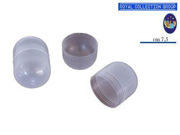 GUSCIO PLASTICA OVALE  CM 7.5