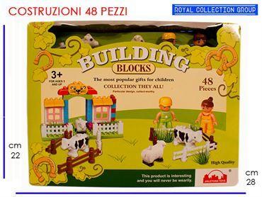 759704 BUILDING BLOCK COSTR pz48 cm28x22 95030095