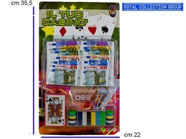K 011209 IL TUO CASINO' cm36x22,5 95030095