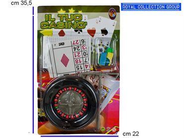K 011201 011209 IL TUO CASINO' cm35,5x22 95030095
