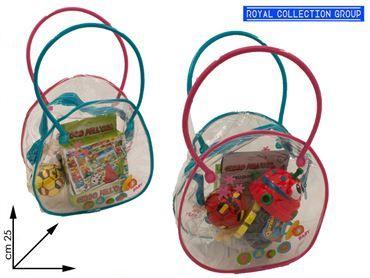 BORSETTA COSTRUZIONI C/GIOCO cm25x25 95030095