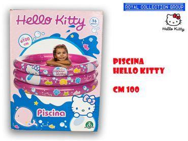 PISCINA HELLO KITTY cm100 95030095