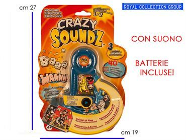 UP221819 CRAZY SOUND GAME BATTERIA cm27x19
