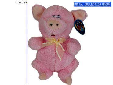 A1 12527 2G MAIALE ROSA PIG SOFT cm24 95030041