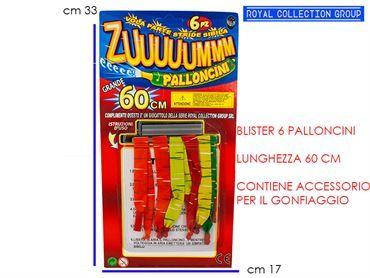 A459 BLISTER PALLONCINI ZUUUM cm33x17