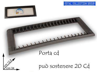 00207 PORTA CD DE LUX cm34x12,5