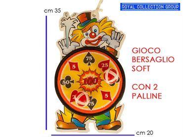 K027386 GIOCO BERSAGLIO CLOWN cm35x20 95030095