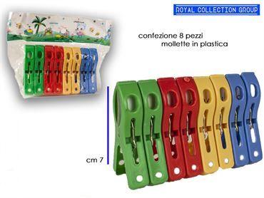 K116 MOLLETTE PLASTICA COL pz8 cm7 39241000