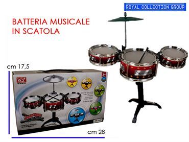 K049966 TAMBURO JAZZ DRUM cm28x17,5 95030095