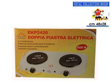 EKP2420 FORNELLO 2 PIASTRE cm48x28x7,5
