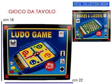 K030404 GIOCO SOCIETA' SNAKES&LADDERS cm22x18 95049080