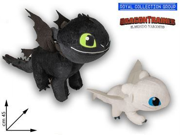 DRAGON TRAINER PELUCHE TG 3  ASS CM 45 95030041 COD 9000
