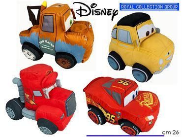 CARS PELUCHE 4 ASS  MIS 3   ART 5000 CM 26