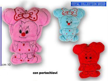 K260 TOPO PELUCHE PCHIAVE COL ASS cm10 95030041