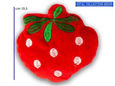K258 FRAGOLA ROSSA PELUCHE cm10,5 95030041