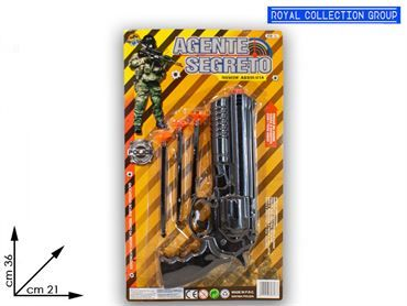 K087804 AGENTE SEGRETO BLISTER  CM 36X21