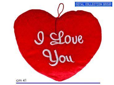 8057 CUORE ROSSO I LOVE YOU cm 41X30  95030041