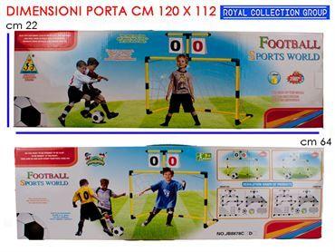 K077847 SET  PORTA CALCIO CM 64x22