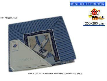 LENZUOLO MATRIMONIALE 250x280 IN COTONE