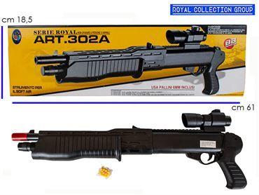 302A FUCILE ROYAL SOFT AIR   CM 61X18.5