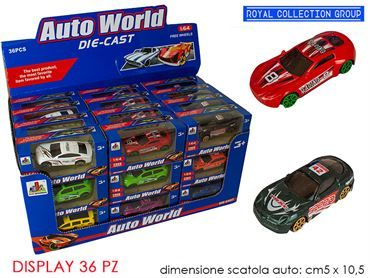 K096062 AUTOMOBILI ASS DISPLAY 36 PZ DIE CAST CM 11