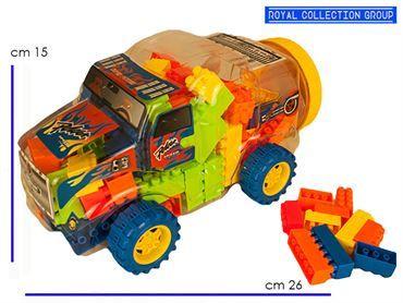 K086730 AUTO C/ COSTRUZIONI  CM 26X15