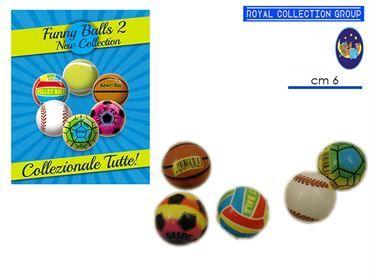05626 PALLA FUNNY BALL S. (25 PZ)  60 MM