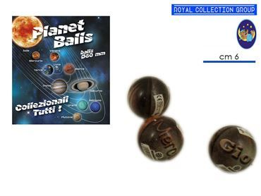 05627 PALLA PLANET BALL S. (25 PZ)  60 MM