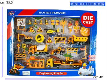 K085519 SET ENGINEERING DIE CAST  CM 48X35.5