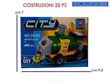 K129887 BUILD COSTRUZIONI TRENO PZ 22 25103 CM  9.5X7