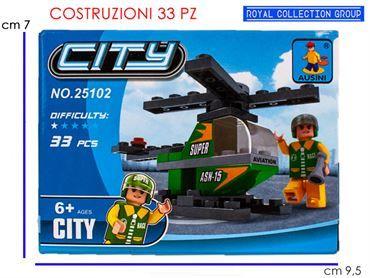 K129890 BUILD COSTRUZIONI ELICOTTERO PZ 33 25102 CM  9.5X7