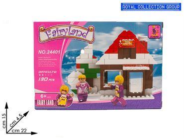 K129856  BUILD COSTRUZIONI FAIRY LAND PZ 130 24401 CM 22X15