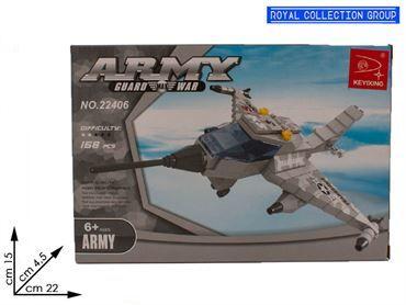 K129836  BUILD COSTRUZIONI AEREO ARMY PZ 168 22406 CM 22X15