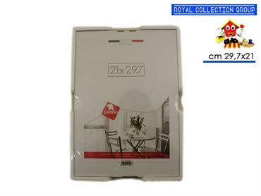 COR21297A  CORNICE A GIORNO CM 29.7X21 VETRO