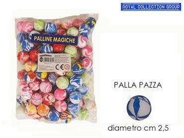K130438 PALLA MAGICA COL ASS (MIN 100 PZ) CM 2.5