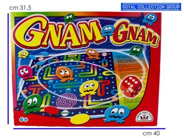 30 GNAM GNAM- GIOCO DI SOCIETA' CM 40X31.5