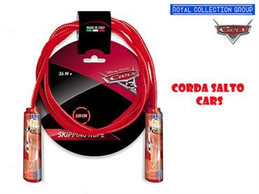 09112 BLISTER CORDA SALTO CARS CM 220