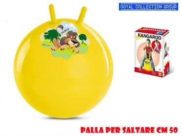 06601 KANGAROO BALL ANIMALS ASS CM 50