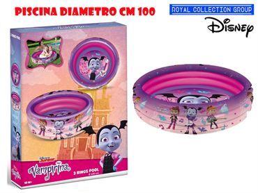 16771 PISCINA VAMPIRINA CM 100  CM 29X20